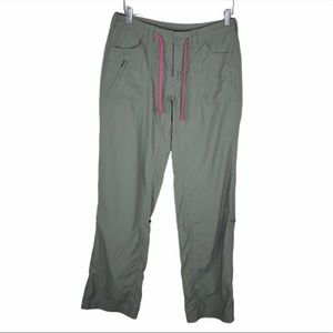 North Face Nylon Water Resistant Convertible Pants